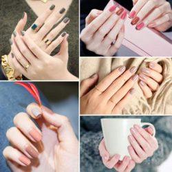 Uñas de gel manicura